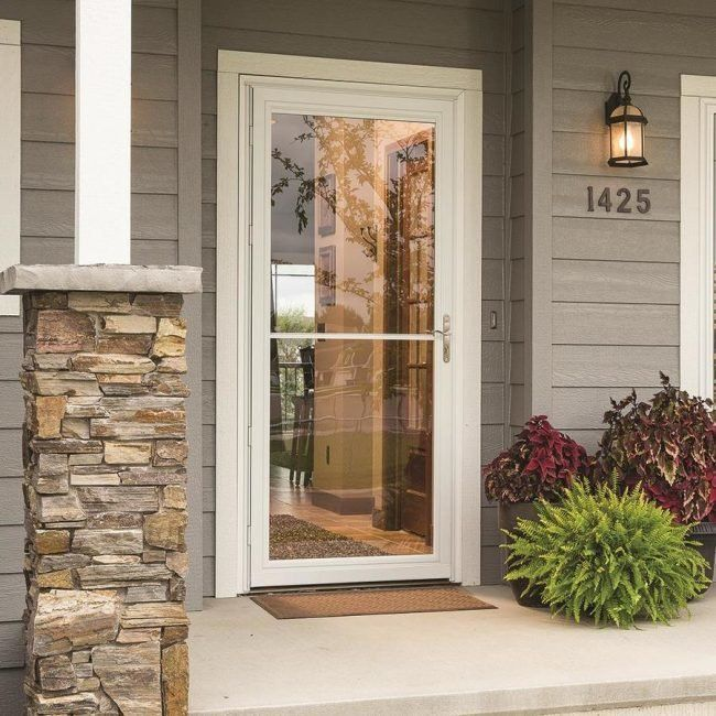 The Best Storm Doors For Your Home Aluminum Storm Doors Best Storm Doors Storm Door