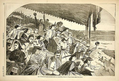 Visit and Go to the Races: Saratoga Race Track 1860s ***Completed 8/9/2014***