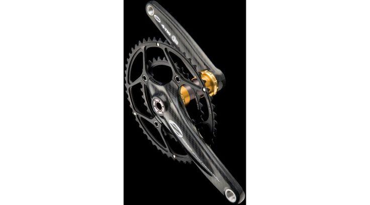 Zipp Vuma Quad BB30 Rennrad Kurbel 172,5mm, 50-34Zähne schwarz (ohne Innenlager)