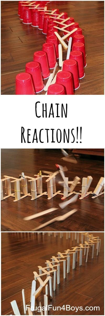 how to make a stick bomb chain reaction