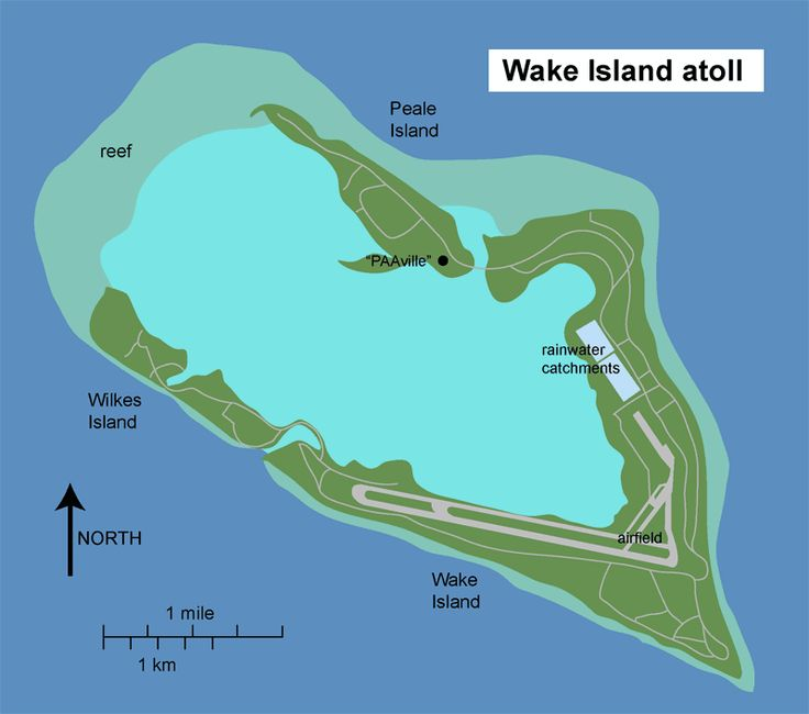 Referring to the atoll as an island is the result of a pre-World War II desire by the United States Navy to distinguish Wake from other atolls, most of which were Japanese territory. Description from flickr.com. I searched for this on bing.com/images