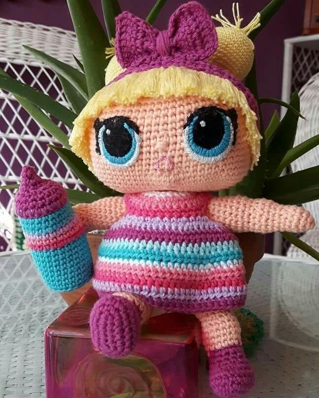 Boneca LOL Queen Bee de Crochê - Amigurumi - YouTube | 810x648