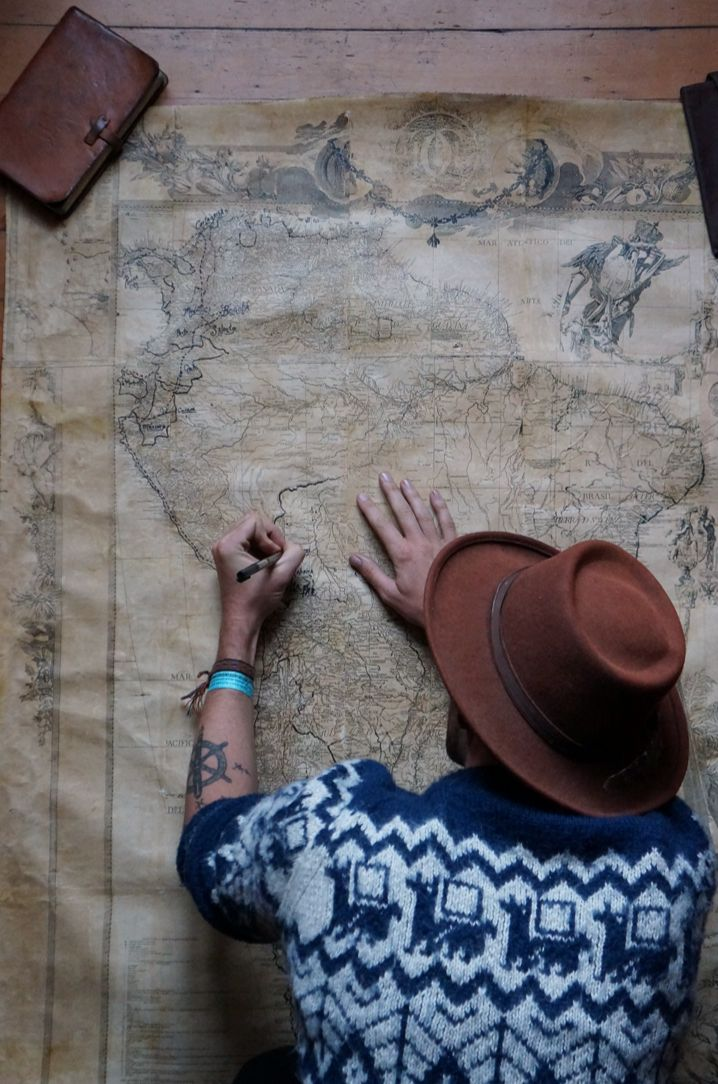 heavenfalldown:  oregontopatagonia:  I bought a map of South America in 1776, on the 4th of July no less. Almost none of the current countri...