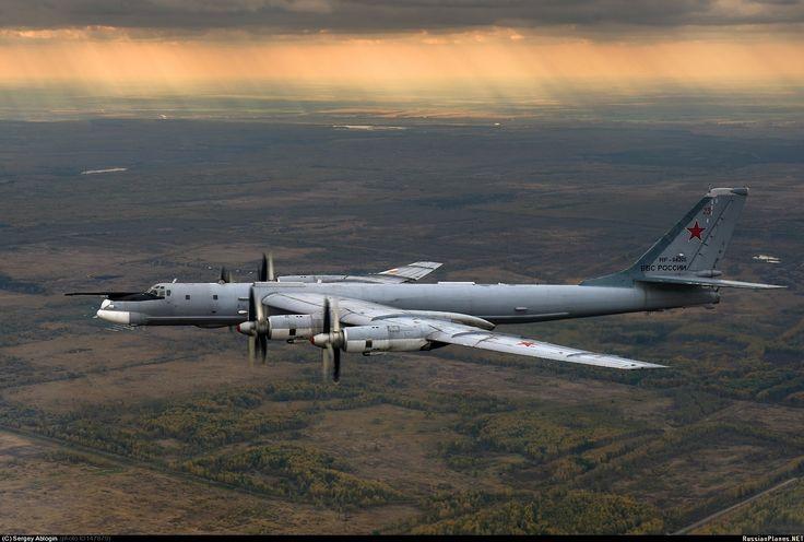 Russian Air Force TU-95MS Bear H bomber