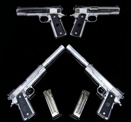 pistolet hitman