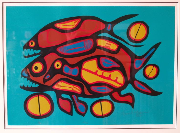 40 best Kids Art Norval Morrisseau
