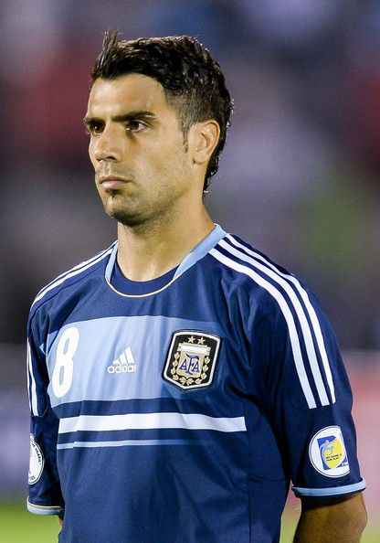 Augusto FERNANDEZ Midfielder, 7caps, 1International Goals, 28years old, 177cm.  A hard-running right-sided midfielder who has plenty to offer both in repelling opposing attacks and creating play, Augusto Fernandez has added another string to his bow as the years have passed: an ability to get into goalscoring positions.