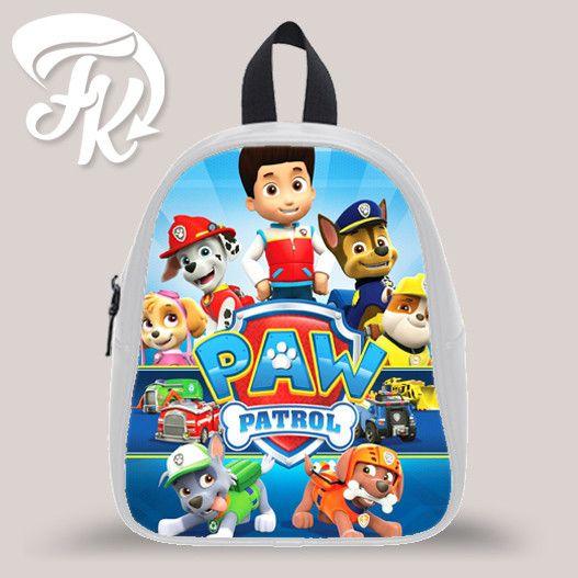 Paw Patrol Movie Kid School Bag Backpacks for Child