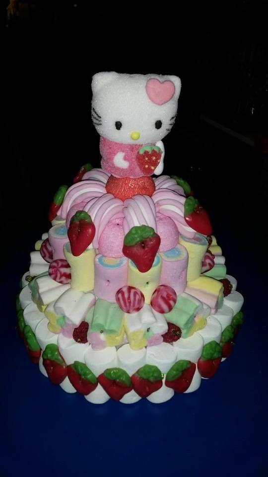 Una tarta para Hello Kitty de Duldi Ciuadad Real