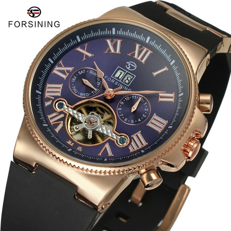 Find More Sports Watches Information about 6 Colors FORSINING Brand Luxury Male Clock Top Mens Design Rubber Tourbillon Automatic Mechanical Men Sports Watch orologio uomo,High Quality sports watch digital,China sport watch pedometer Suppliers, Cheap watch express from YIKOO Watches Store on Aliexpress.com