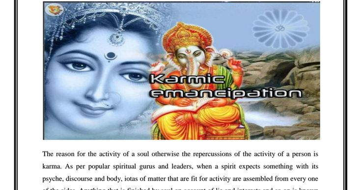 Removal of effects of karma and use of Arabic talismans amulets