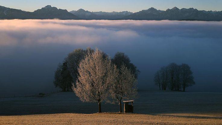 Wolken und Nebel: Wetteraussichten für das Wochenende sind trübe