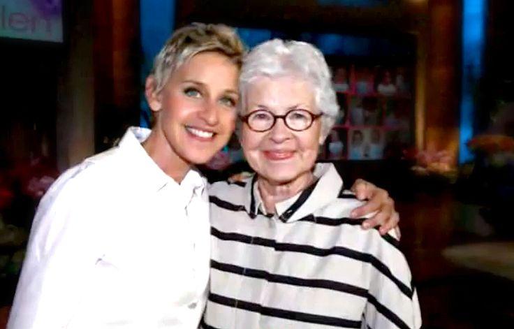 Ellen and Betty DeGeneres