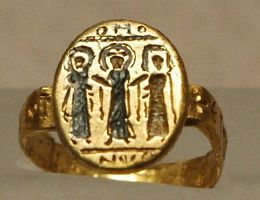 The History of Jewellery: The Middle Ages. Byzantine Wedding Ring