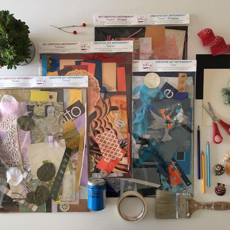 Tanti kit creativi ArtEnergy per stimolare ogni giorno la tua fantasia...