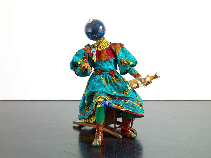Yinka Shonibare MBE, Champagne Kid (Sitting).
