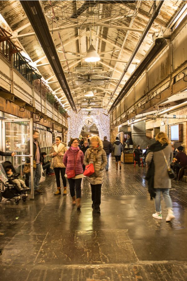 Chelsea market | 2018 Places to visit in 2019 | High line, Things to
