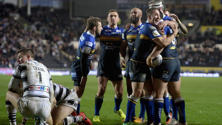 Kylie Leuluai: Scored one of seven second-half tries for Leeds