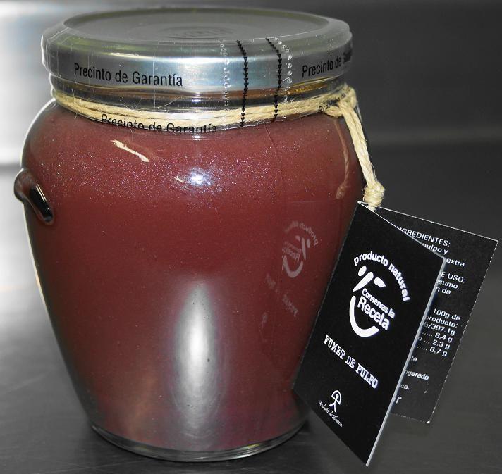 Fumet de Pulpo - 550 gr €4