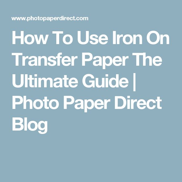 best iron on transfer paper Find great deals on ebay for iron on transfer paper in screen and specialty printing heat transfer iron on paper shop with confidence.