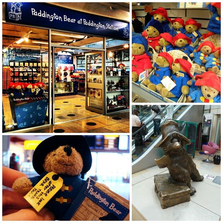 Paddington Station Shop in London, England / 19 Places That Will Make Your Kid's Dreams Come True (via BuzzFeed)