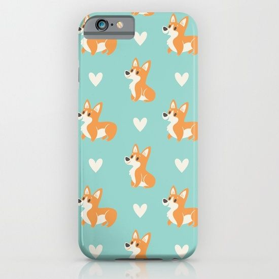Corgi Pups iPhone & iPod Case by There Will Be Cute | Society6