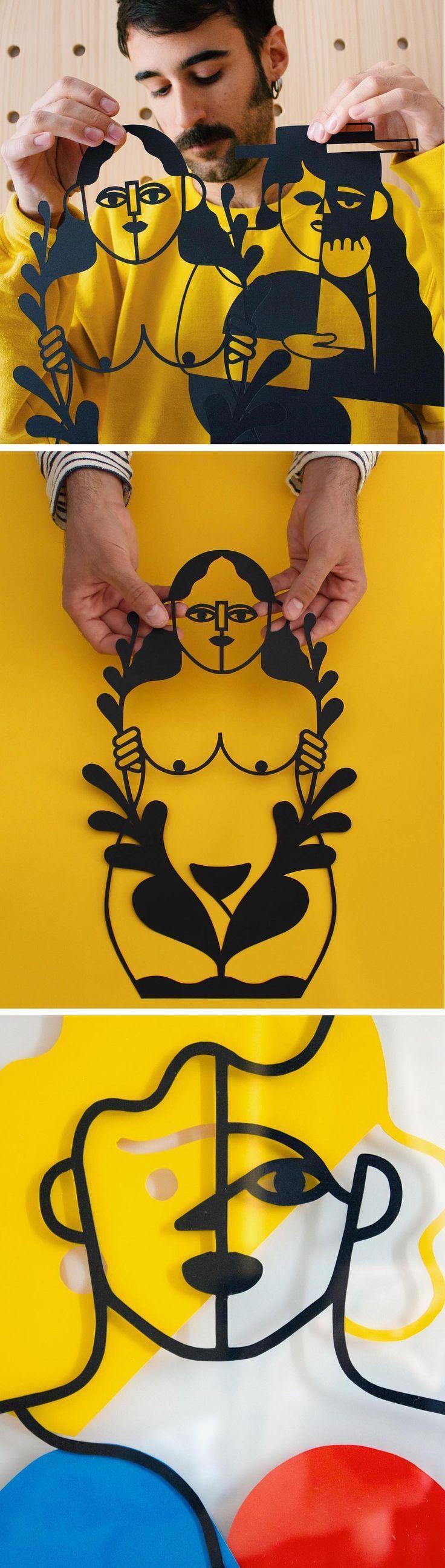 Paper Cutouts by José Antonio Roda