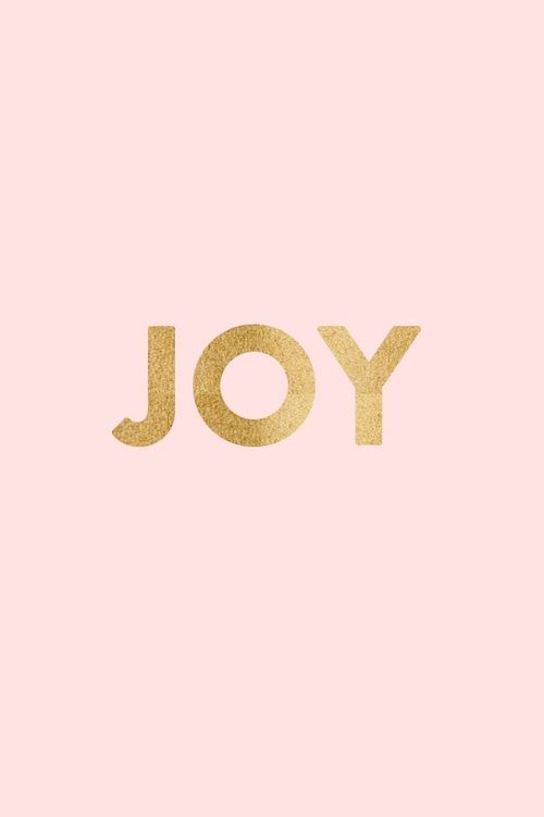 JOY from Classy Woman tumblr - so simple and pretty