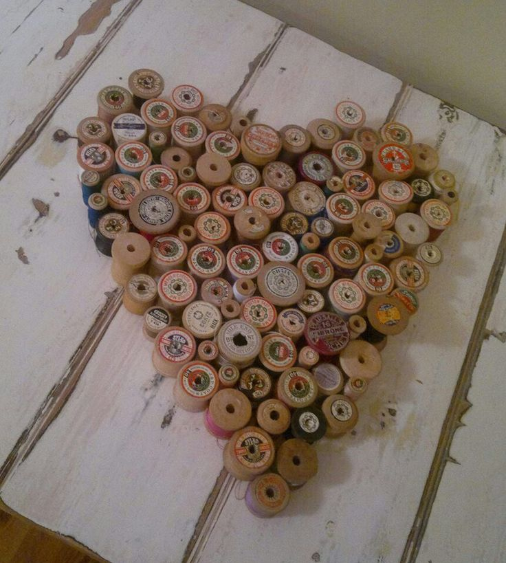 A Love for Spools - Crafts Hobby Lobby