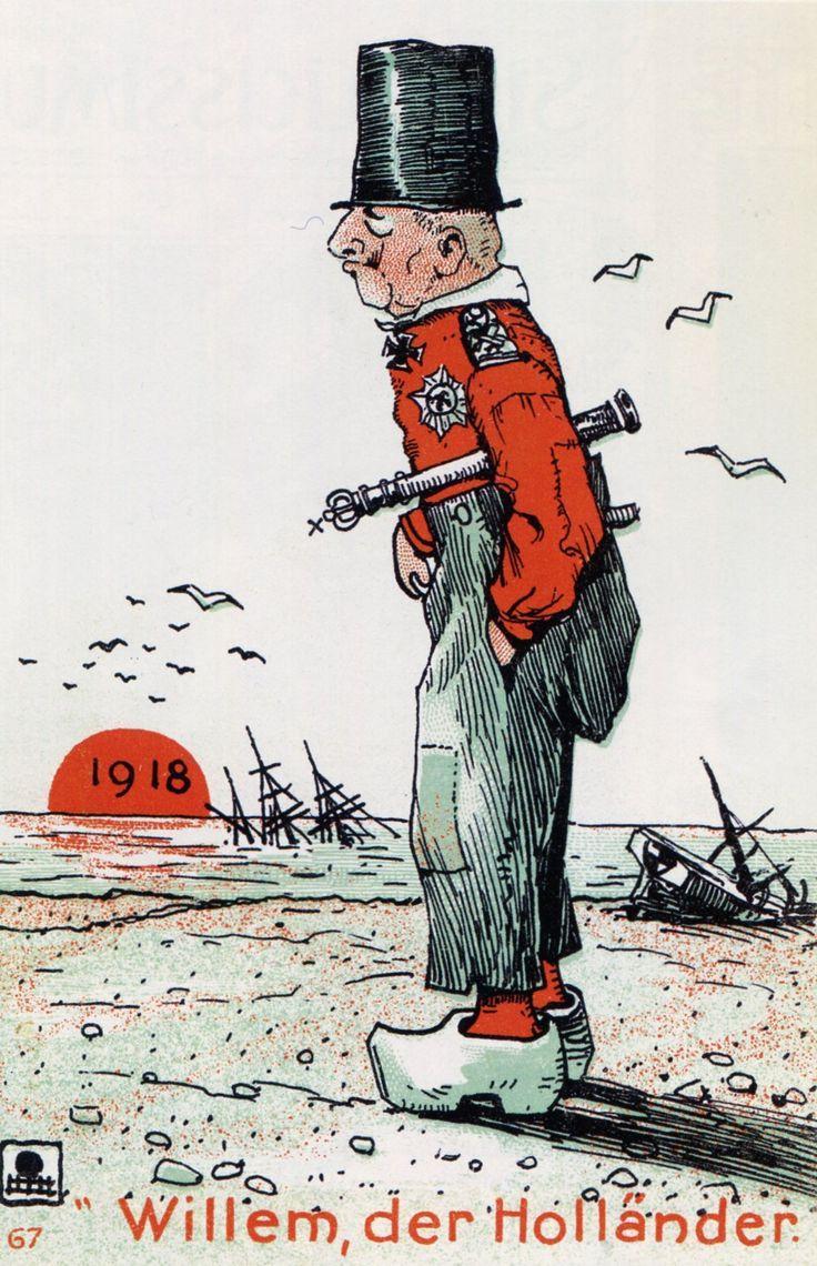 [A.E. Mohn] 'Willem, der Holländer', prentbriefkaart (Duitsland, 1918)