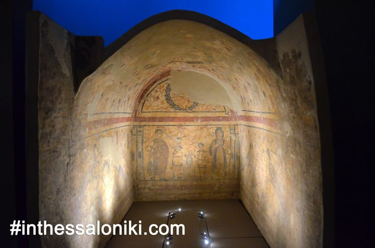 ● Some of the exhibits that really make quite an impression to the majority of the visitors are the ones devoted to Byzantine funerary art and architecture. Elegant graves & colorful frescoes help us further understand the old traditions and beliefs!  http://www.inthessaloniki.com/museum-of-byzantine-culture   ● Greek Version http://www.inthessaloniki.com/el/mouseio-byzantinou-politismou-thessalonikis    ● #thessaloniki #museum #byzantine #culture #greece #archaeology #travel #byzantino…