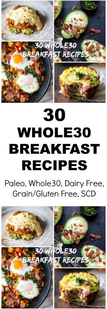 Top 30 Whole30 Breakfasts