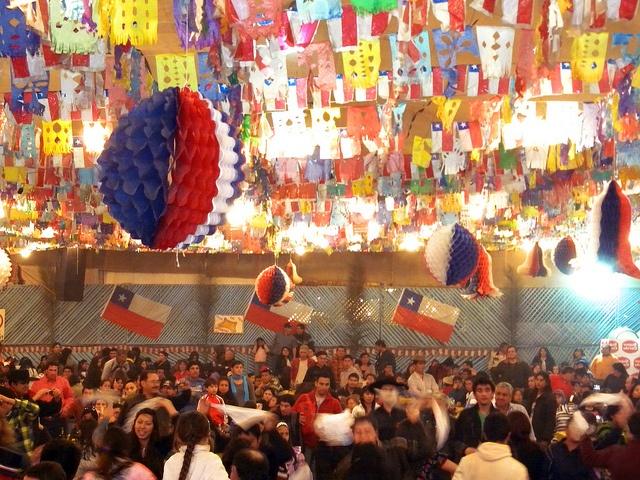 Fiestas patrias en Chile. by EcoturChile, via Flickr