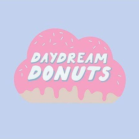 Branding + logo collab. for @daydreamdonuts 😍