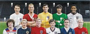 GB Football Heroes Stamps.