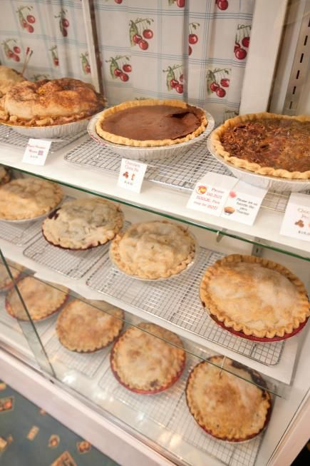 Sweetie Pies, south of Fish Creek, sells tempting cherry, apple-cherry and cherry-rhubarb pies, among other goodies. (877) 868-2744; doorcountypies.com