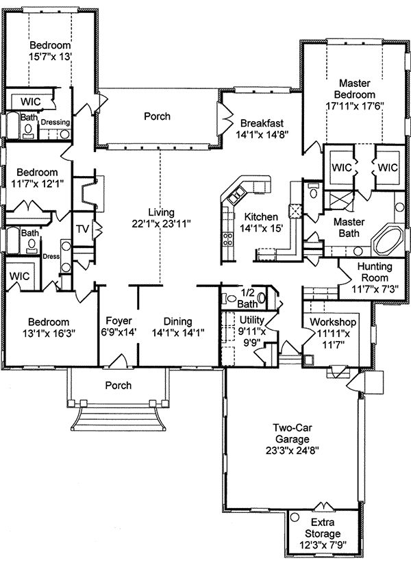188 best houses i really like images on pinterest home for Family home plans 82230