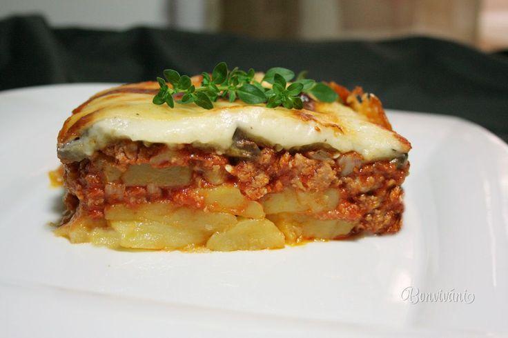 Musaka • recept • bonvivani.sk