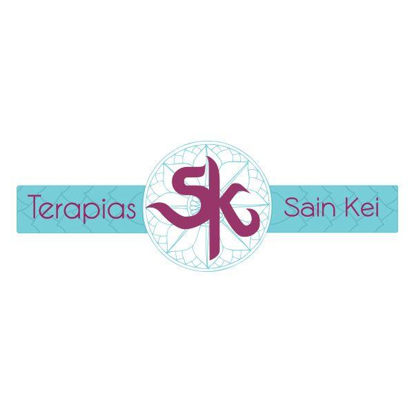 Logotipo de empresa de Masajes y terapias alternativas, Terapias Sain Kei.