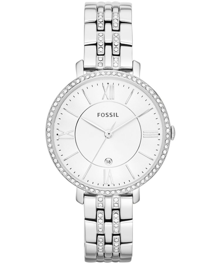 Fossil Women's Jacqueline Stainless Steel Bracelet Watch 36mm ES3545