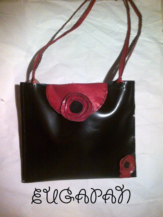 tote handmade leather bag by LeatherEugapan on Etsy, €68.00