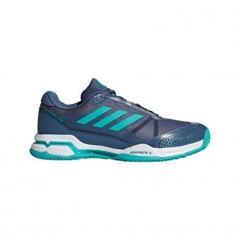 new concept 61ecb 2a3aa Adidas Barricade Club Clay AH2081 tennisschoenen heren tech ink aqua