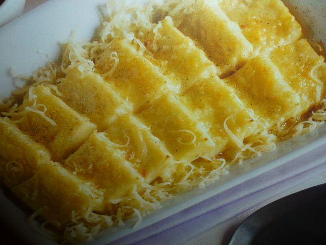 gnocchi di semolino - al formaggio