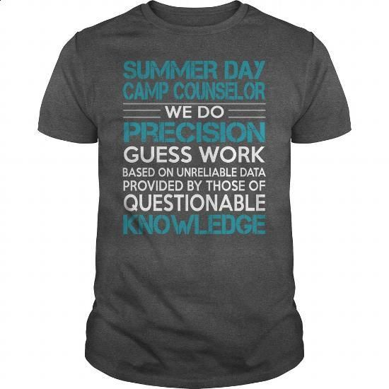 Awesome Tee For Summer Day Camp Counselor #tee #hoodie. MORE INFO => https://www.sunfrog.com/LifeStyle/Awesome-Tee-For-Summer-Day-Camp-Counselor-100514264-Dark-Grey-Guys.html?60505