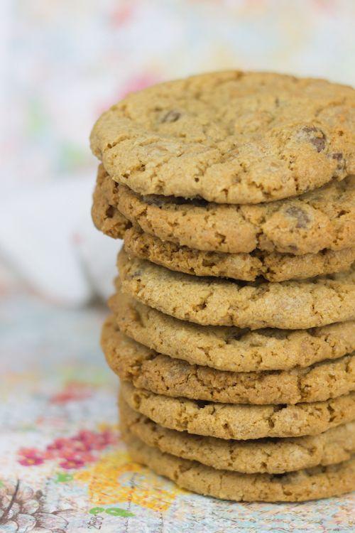 Objetivo: Cupcake Perfecto.: Cookies con chips de chocolate y mantequilla de ca...