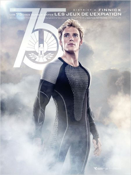 Hunger Games - L'embrasement : Affiche Sam Claflin