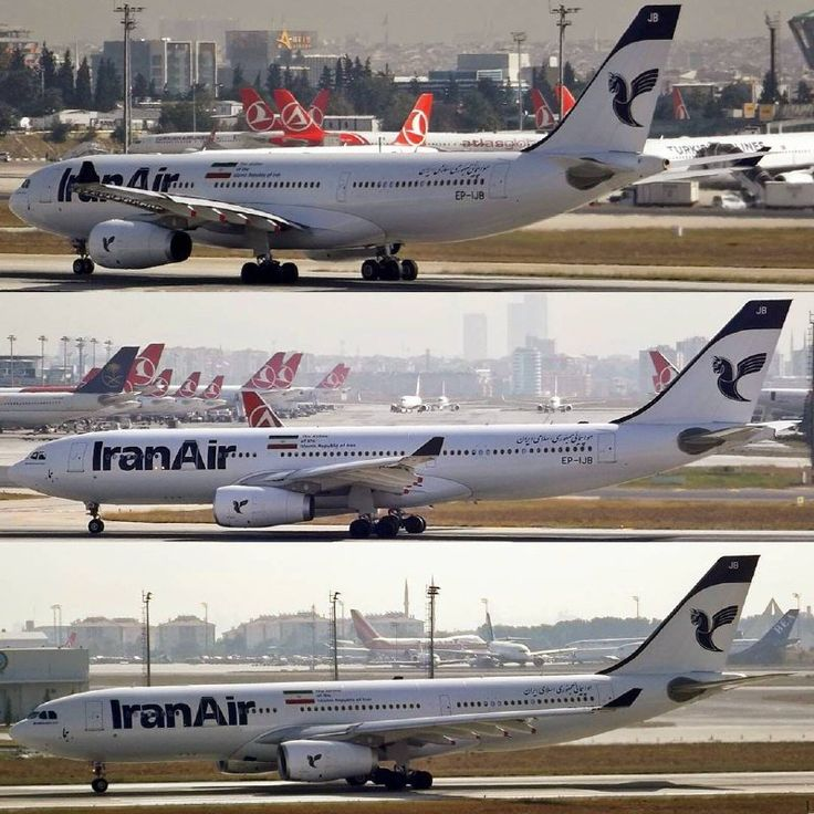 Different shots of an Iran Air A330 at Ataturk Airport in #Istanbul - Iran Air (@IranAir_IRI) | Twitter