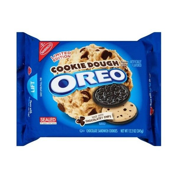 Nabisco Cookie Dough Oreo Chocolate Sandwich Cookies, 12.2 oz ❤ liked on Polyvore featuring food, food and drink, food & drinks and comidas
