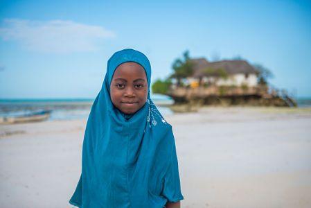 Zanzibar Girl by Mehmet Emre