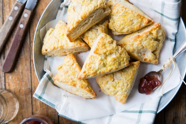 Traditional Irish Scones for St. Patrick's Day